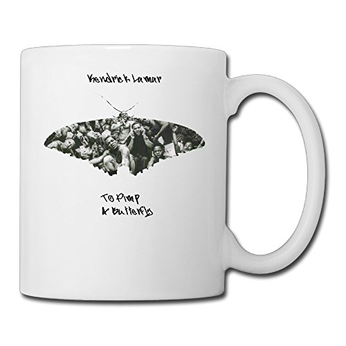 Kendrick Lamar - To Pimp A Butterfly Music Cool Travel Mugs Cups (Cool Pimp Cup compare prices)