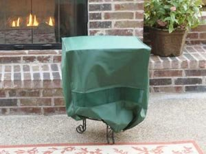 Square Side Table / Ottoman Cover 20 x 20 x 22 Gre