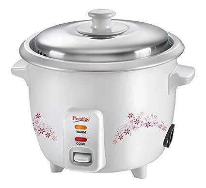 Prestige-Delight-PRWO-1.0-1-Litre-Electric-Rice-Cooker-(White)