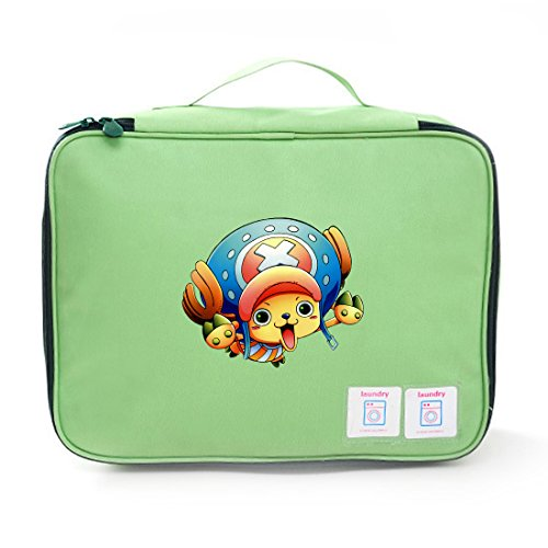 Aoapp Japanese Anime One Piece Chopper Oxford Portable Storage Bags Travelling Cosmetics Organize (Lady Zoro)