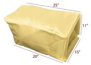 "Honda 21"" 214-series Aluminum Deck replacement grass bag. Bag ONLY from Humboldt"