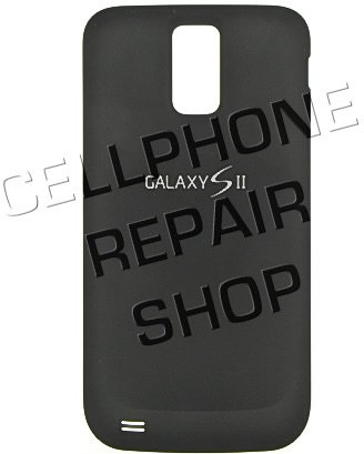 Original OEM Genuine Black Rear Back Battery Backplate Cover Door For T-Mobile Samsung SGH-T989 Galaxy S II from Samsung