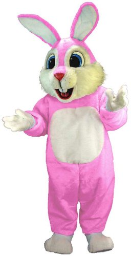 Pink Rabbit Lightweight Mascot Costume