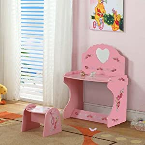 InRoom Designs Kids Desk with Stool by K and B Furniture Co Inc