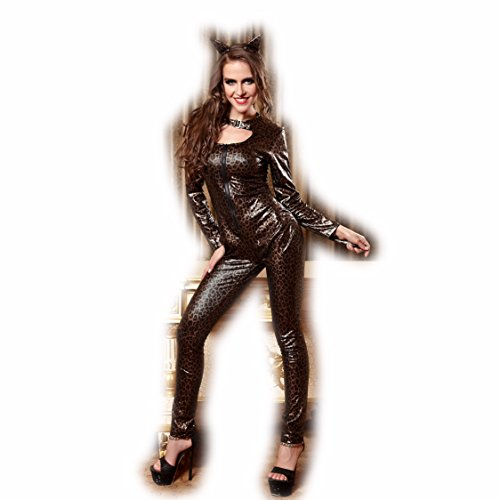 B-JOY The Dark Knight Rises Catwoman Costume, Zentai Catsuit, Front Open