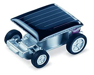 Solar Car - World's Smallest Solar Powered Car - Educational Solar Powered Toy