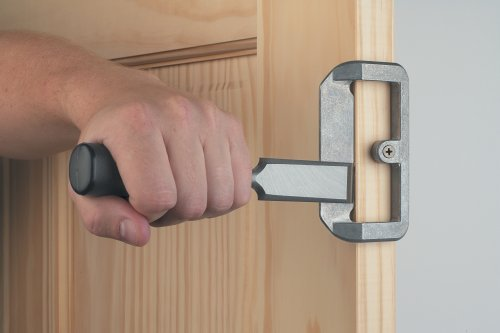Door Knob Installation Kit : Irwin wooden door lock installation kit hardware