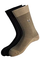 Allen Solly Mens Self Design Socks (Pack Of 3)