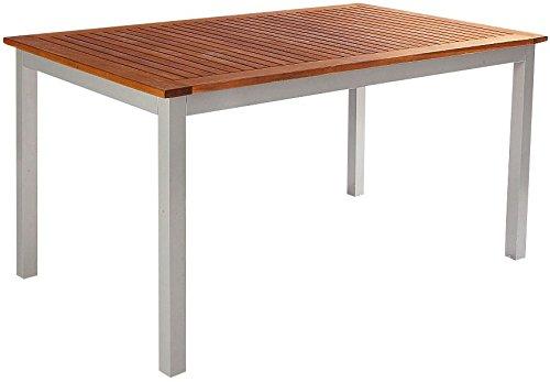 baumarkt direkt Tisch »Monaco« 150 cm x 90 cm, braun günstig bestellen