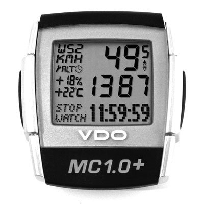 VDO MC1.0+ Wireless Altimeter/Cycle Computer