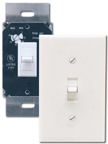Air King AKDT60 Delay Timer Switch, White (Bath Fan Switch compare prices)