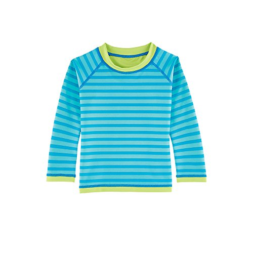 Coolibar upf 50 baby reversible rash guard sun for Baby rash guard shirt
