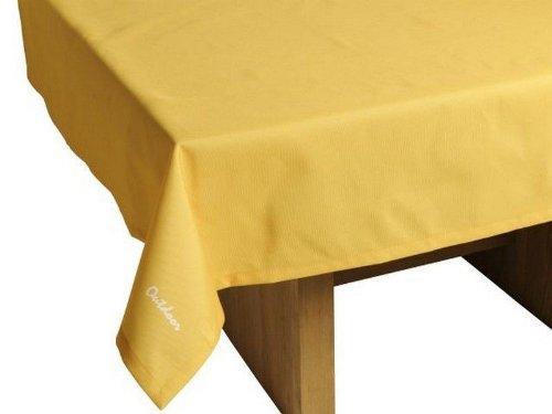 """Outdoor TISCHDECKE """"St. Tropez gelb"""" Gartentischdecke Gartentisch Tisch Decke abwaschbar 140cmx240cm jetzt kaufen"""