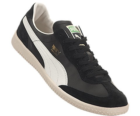 sports shoes 8a237 6cd77 pictures of PUMA SUPER LIGA OG RETRO BLACK MARSHMALLOW MENS FASHION SNEAKER  Size 10.5M