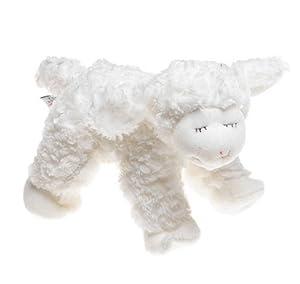 """Gund Baby Lamb """" Winky White"""" by Baby Gund"""