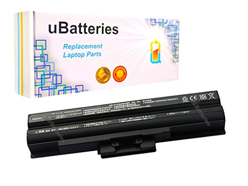 Click to buy UBatteries Laptop Batteries Sony VAIO VGN-CS21S/T VGN-CS215J/P VGN-CS215J/Q VGN-CS215J/R VGN-CS215J/W VGN-CS21S/P VGN-CS21S/R - 4400mAh, 6 Cell (Black) - From only $52.95