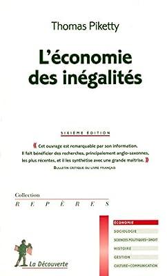 L'économie des inégalités de Thomas PIKETTY