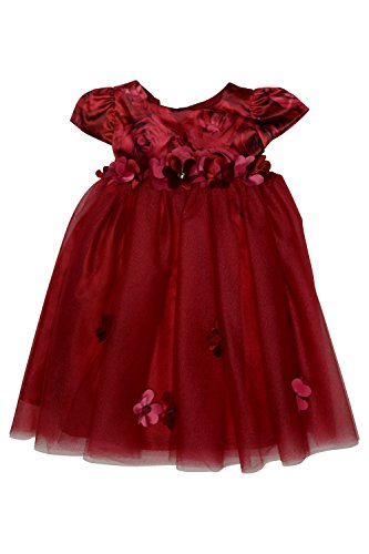 Biscotti Baby - Girl's Infant Rose Rhapsody Ballerina, Red - Size 12M