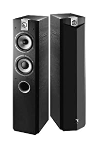 Focal 714V Floorstanding Speakers - Black Ash