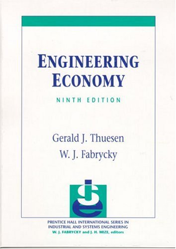 Engineering Economy (9th Edition)