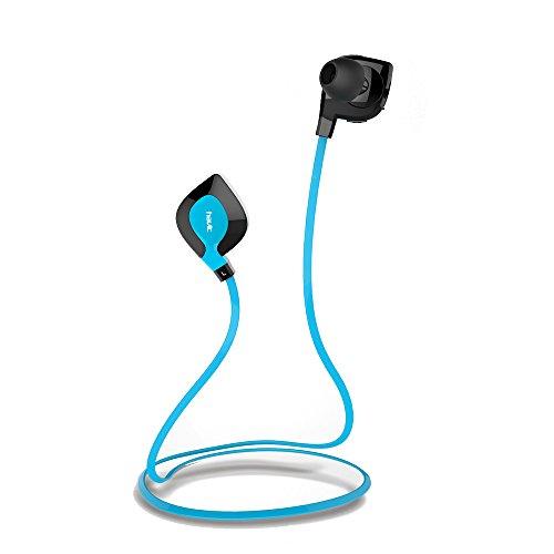 HAVIT HV-H914BT ミニ軽量のNFCワイヤレス スポーツイヤホン ヘッドセット 防汗防水 iPhone6/6プラス/5s/5c/4s/4、iPad 2/3/4、新しいiPad iPod、AndroidといったスマートフォンBluetooth装置に適用する (青い) [並行輸入品]