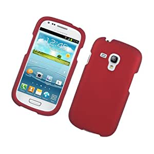 Amazon.com: Samsung Galaxy S3 S III Mini i8190 Red Hard Cover Case
