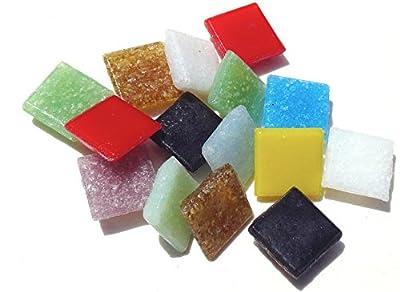 Mosaic Mercantile Minimix Assorted Glass Tile, 3-Pound by Mosaic Mercantile