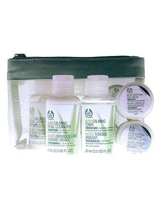 The Body Shop Aloe Starter Kit