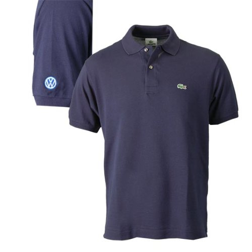 Genuine Volkswagen Men's Lacoste® Polo – Navy – Size Extra Large