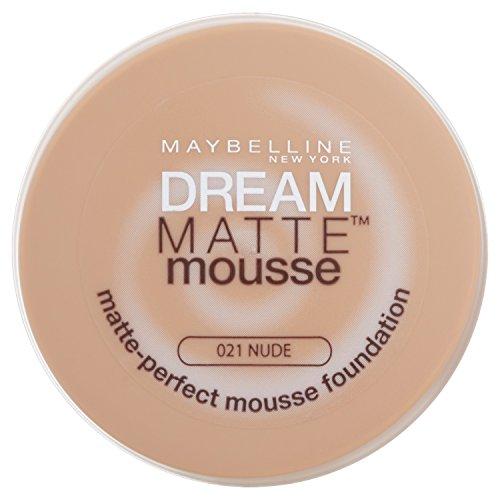Maybelline Dream, Fondotinta compatto in mousse, 21 Nude, 18 ml