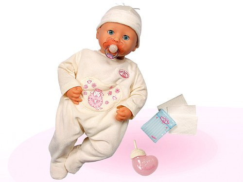 With Accessories Baby Born Interactive Doll With