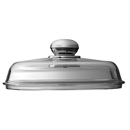 Silit 5324306101 Couvercle de rechange pour sauteuse à servir Poignée métal 24 cm