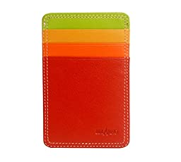 Belarno Flat Cardcase With ID Window - Red