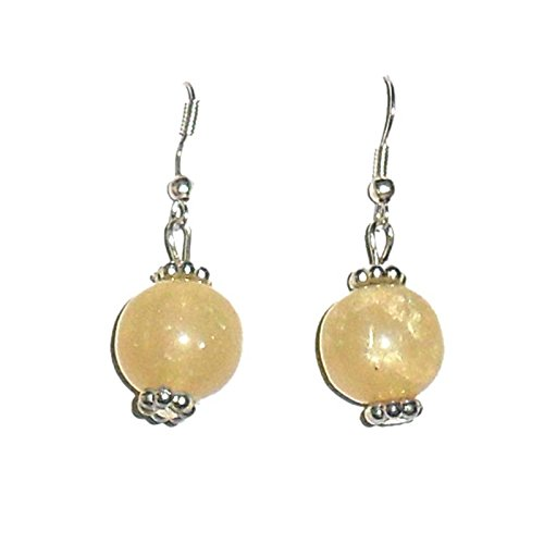 Beadworks Beadworks Resin Dangle & Drop Earring For Women (Beige) (Beige\/Sand\/Tan)