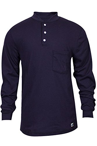 national-safety-apparel-c54pibsls2x-fr-classic-cotton-long-sleeve-henley-100-fr-cotton-xx-large-navy