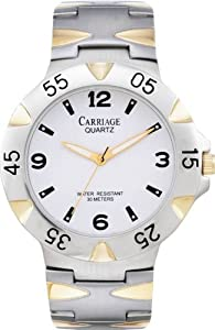 Timex Carriage Two-Tone Mens Watch C8A971