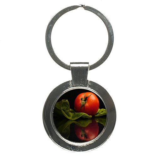 Lycopene Nutrition Tomato Round Keychain