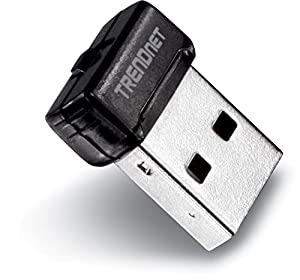 TRENDnet AC1200 Dual Band Wireless USB Adapter, 5 Gbps USB 3.0 Connection, Connect to Wireless N at Up to 300 Mbps, TEW-805UB