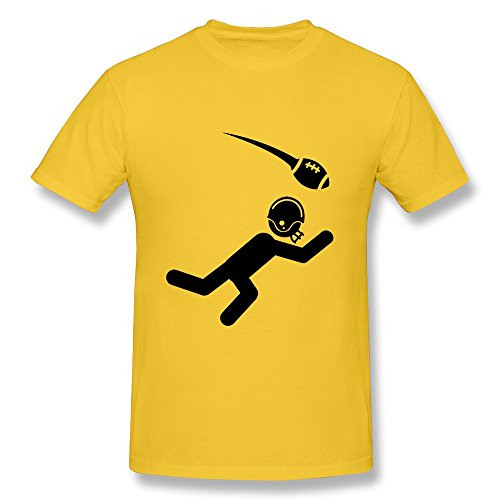 Personalized Crew Neck Geek American Football Gentleman T Shirts
