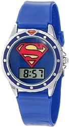 Superman Kids' SUP4018 Logo Watch