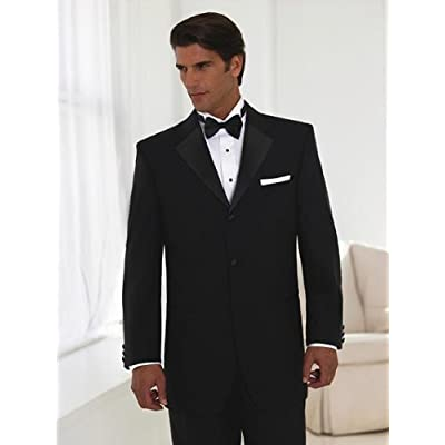 Italian Mens Wedding Tuxedo Suits Merino Wool Extra Fine High Twisted 150s Stain Resistant Suit Jet Black