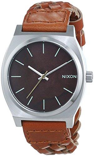 nixon-herren-armbanduhr-time-teller-analog-quarz-leder-a0451959-00