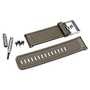 Garmin Bracelet de rechange pour montre cardiofréquencemètre (Olive)