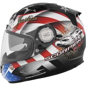 Scorpion EXO-1100 Freedom Helmet - 2X-Large/Red