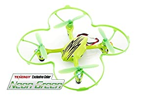 Tenergy Exclusive Color Hubsan X4 (H107L) 4 Channel 2.4GHz RC Quad Copter w/ LED Lights NEON GREEN