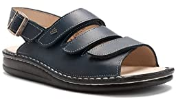 Finn Comfort Women\'s Sylt Sandal,Jeans Toscana,36 EU (US Women\'s 5 M)