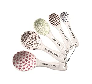 Rae Dunn Measuring Spoons - Set of 5 Stoneware at Sears.com