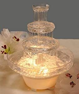 4 Tier Wedding Fountain with Lights Party Supplies Decorations