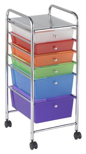Rolling Plastic Cart - Stay Organized - Best Carts