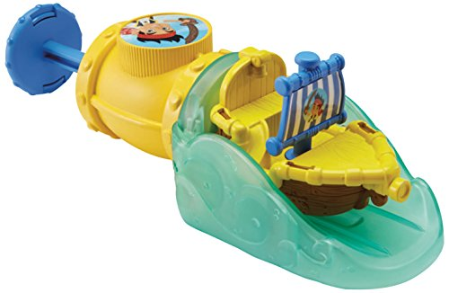 Fisher-Price Disney Jake and The Never Land Pirates Splash 'n Go Bath Boat Jake - 1